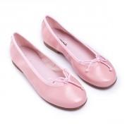 Bailarina piel rosa empolvado, tallas 31-35.